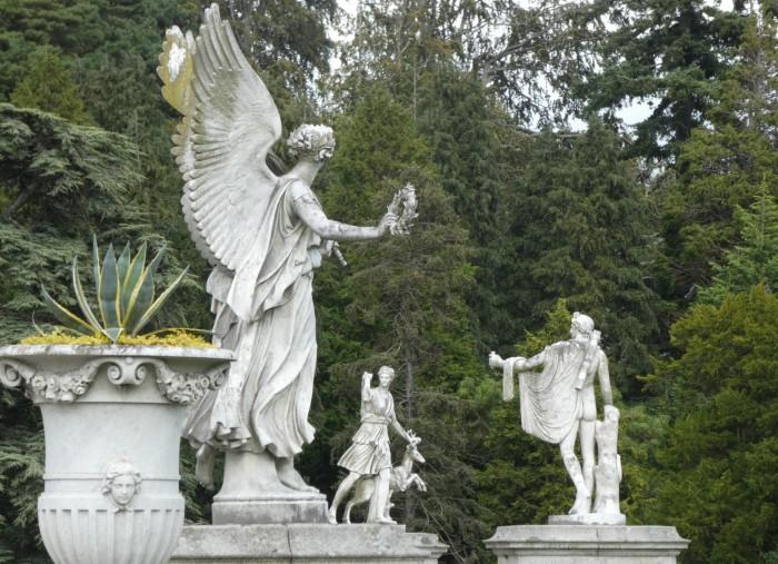 Statues in Powerscourt Gardens - B Crawford/CrawCrafts Beasties