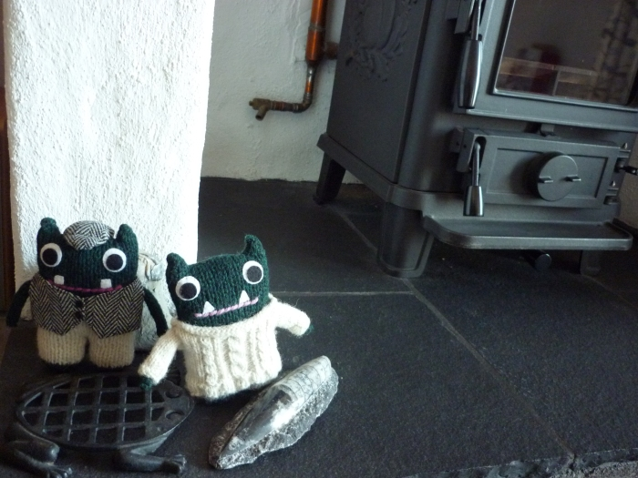 Warming up by the Stove - H Crawford/CrawCrafts Beasties