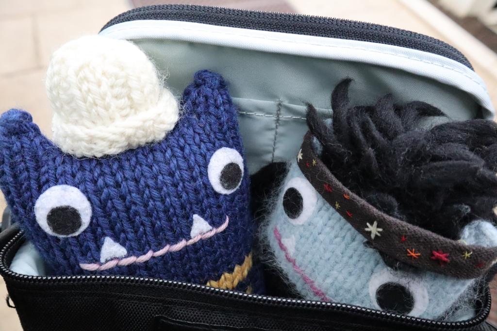 Beasties Travelling in Style - CrawCrafts Beasties