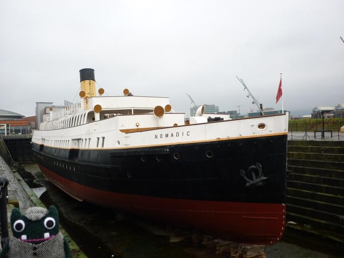 The Nomadic in Belfast's Titanic Quarter - CrawCrafts Beasties