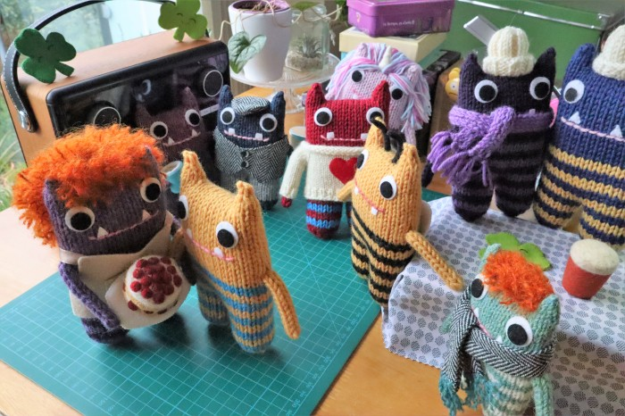 St Patrick's Day Dance Party - CrawCrafts Beasties