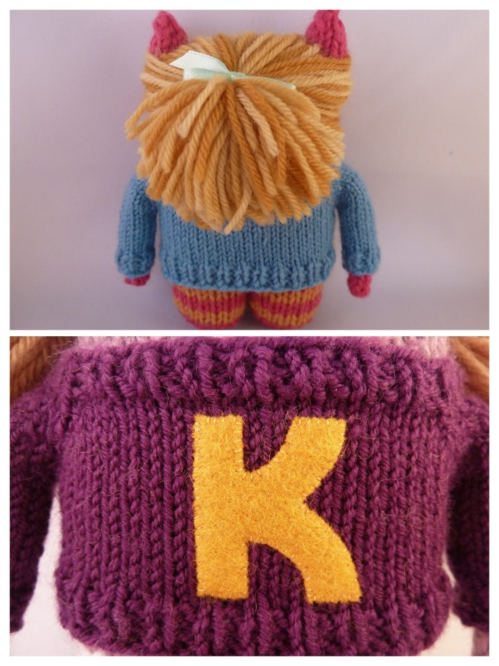 Hair and Sweaters for Beastie Girls, by CrawCrafts Beasties