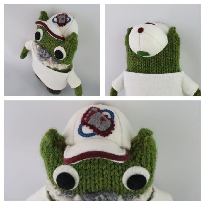 Beastie Baseball Cap - Personalised Engagement Gifts by CrawCrafts Beasties