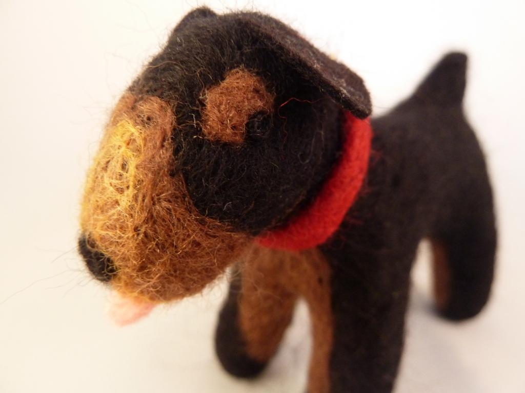 Beastie Dog Closeup - CrawCrafts Beasties