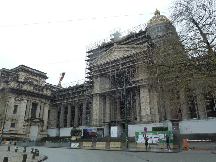 Palais de Justice, Brussels - CrawCrafts Beasties