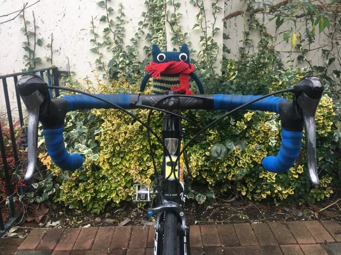 Felix on the Bike - CrawCrafts Beasties