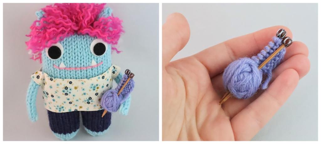 Beastie Knitting by CrawCrafts Beasties
