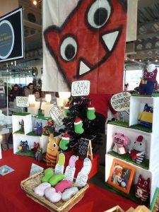 Christmas Flea 2017 - CrawCrafts Beasties