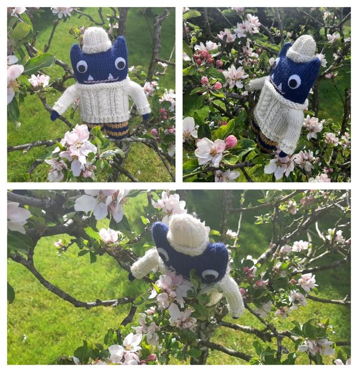 Apple Blossom - Irish Countryside - CrawCrafts Beasties