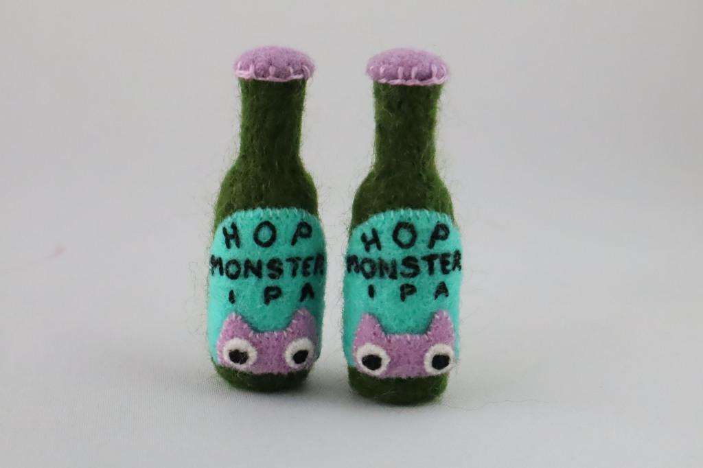 Hop Monster IPA - Beastie Accessories - CrawCrafts Beasties