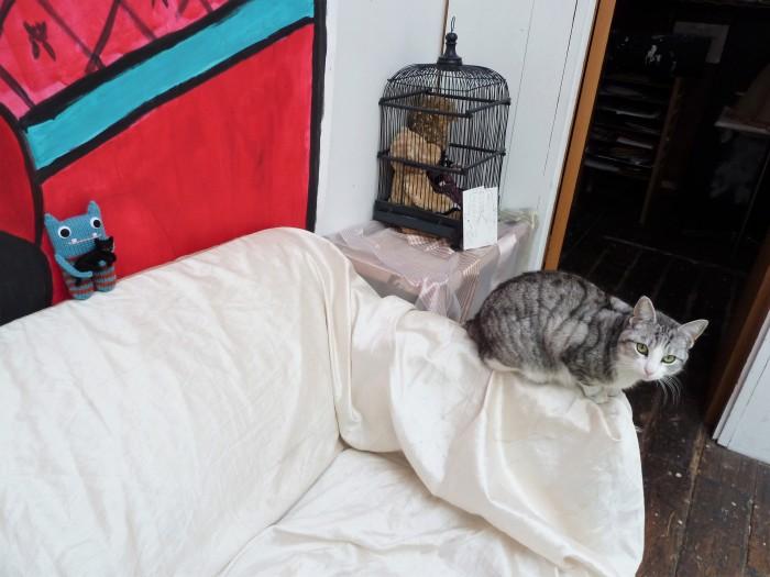 Beastie Cat, Meet Ophelia - CrawCrafts Beasties