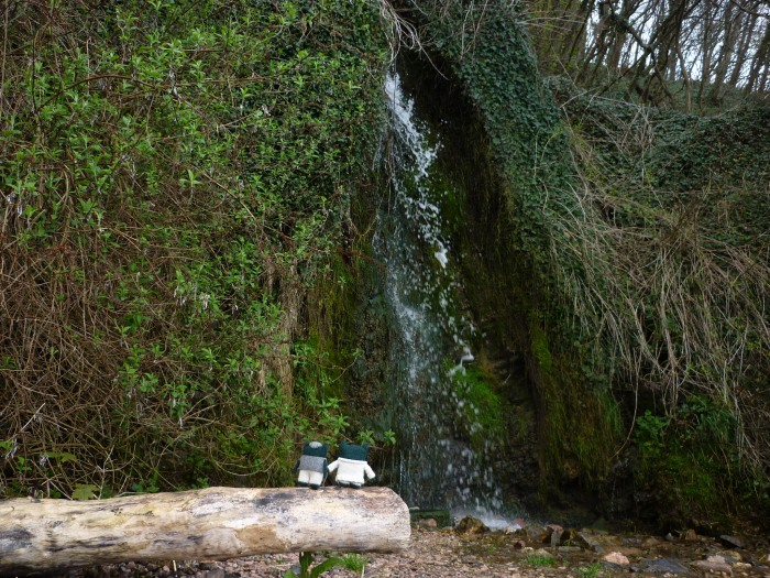Paddy, Plunkett and the Waterfall - H Crawford/CrawCrafts Beasties