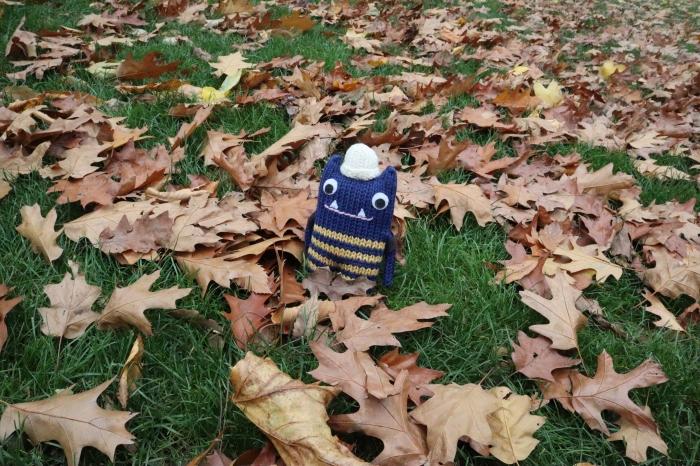 Crunching through Autumnal Leaves - CrawCrafts Beasties