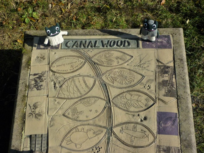 Canal Wood Sign - H Crawford/CrawCrafts Beasties