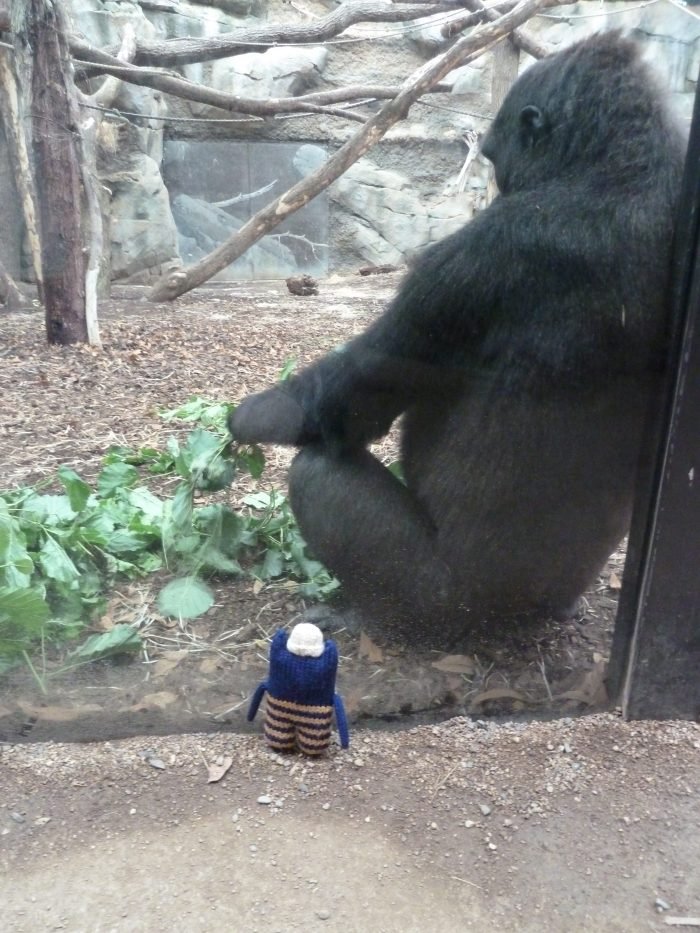 Lunch with a Gorilla - CrawCrafts Beasties