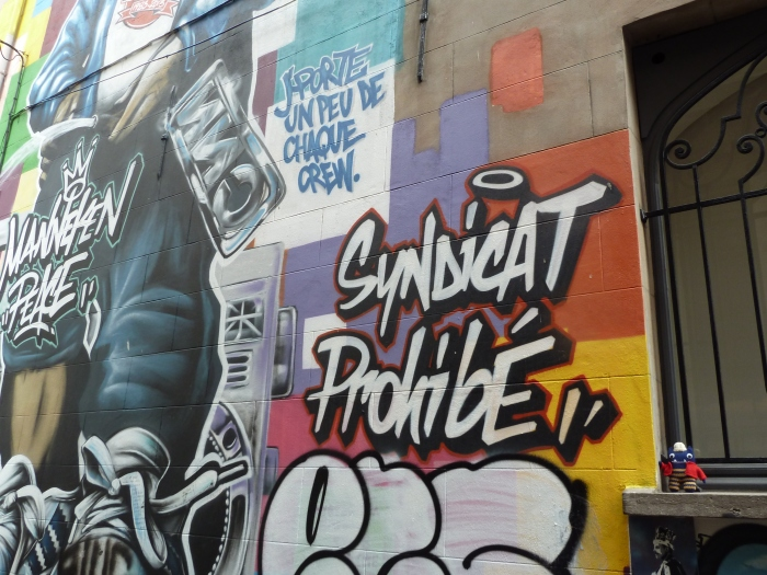Street Art, Brussels - CrawCrafts Beasties