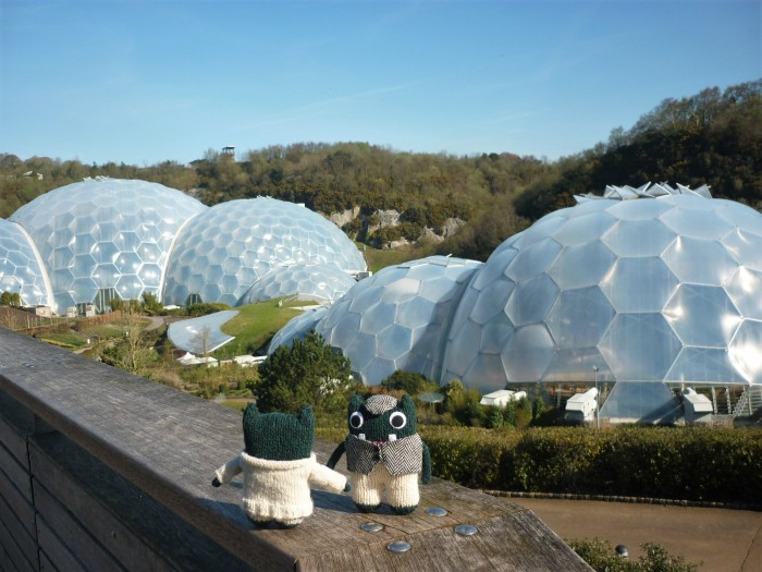Beasties at the Eden Project - H Crawford/CrawCrafts Beasties