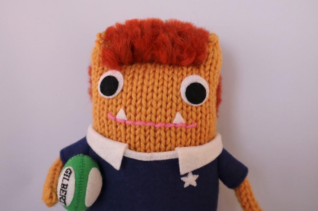 Rugby Beastie by CrawCrafts Beasties