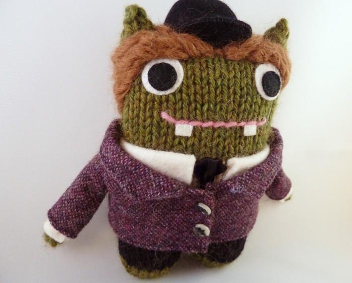 Emily Beastie, Personalised Monster Doll by CrawCrafts Beasties