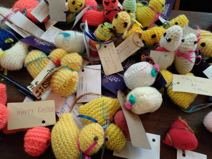 Little Spring Chickens at St Patrick's Cathedral - CrawCrafts Beasties