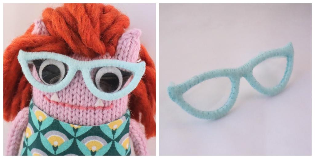 Beastie Glasses - Retro Style Cat's Eye Glasses - CrawCrafts Beasties
