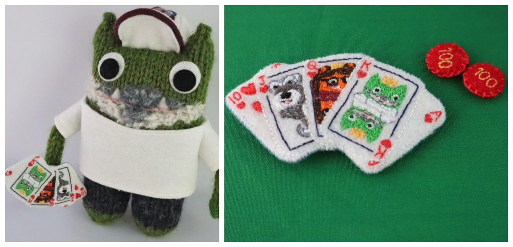 Beastie Poker Tournament - Engagement Gifts by CrawCrafts Beasties