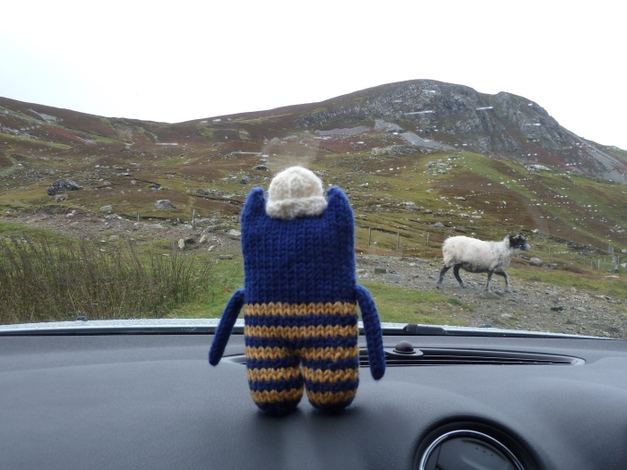 Not even great weather for sheep! CrawCrafts Beasties