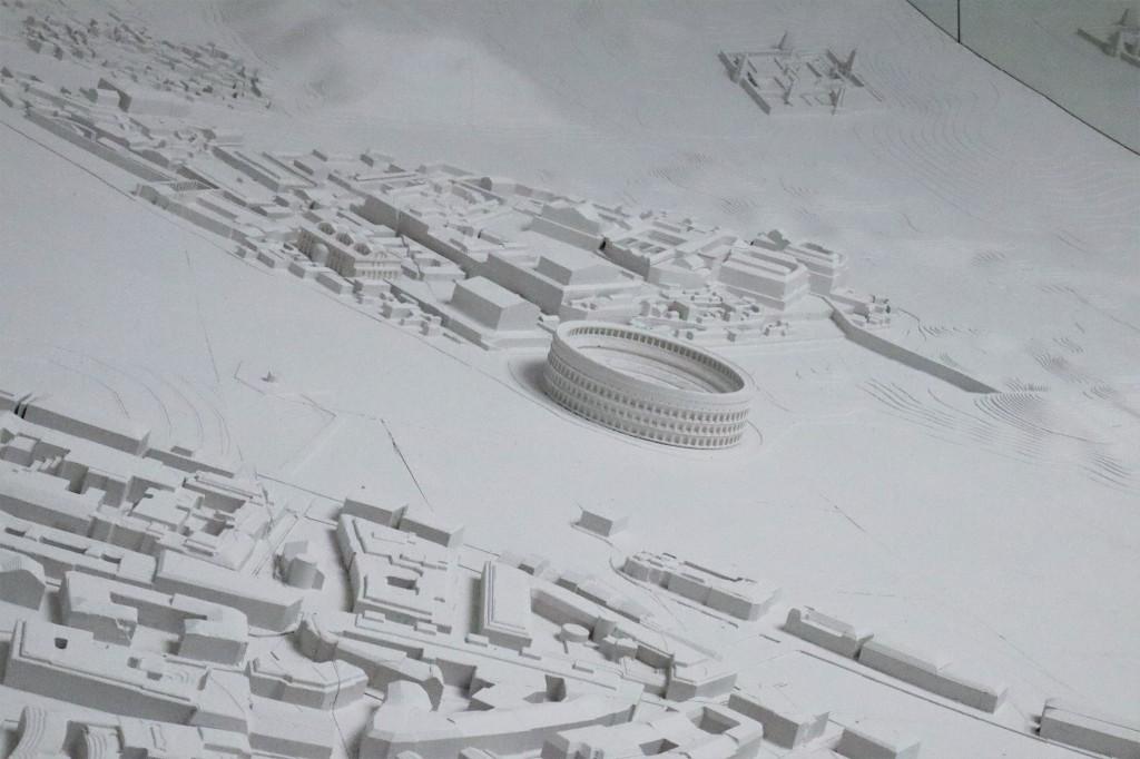 Roman Forum, Memory Palace - CrawCrafts Beasties