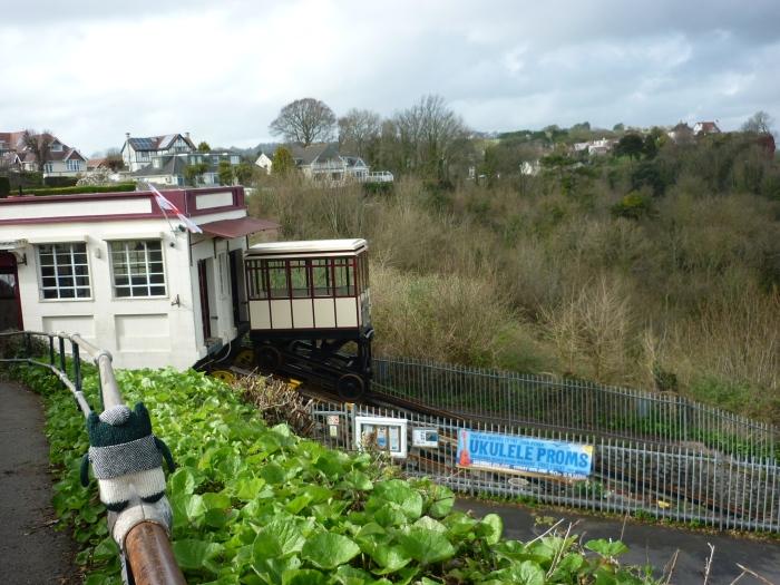 Plunkett Admires the Babbacombe Cliff Railway - H Crawford/CrawCrafts Beasties