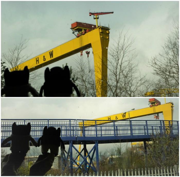 Goliath Cranes, Belfast - H Crawford/CrawCrafts Beasties