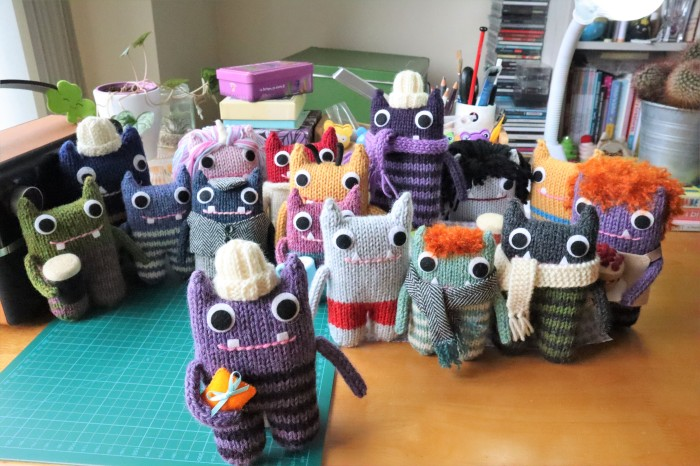 A St Patrick's Day Gift - CrawCrafts Beasties