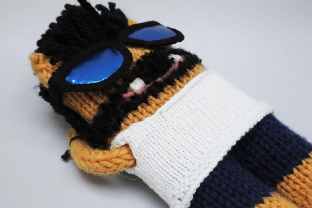 Relaxing in Sunglasses - CrawCrafts Beasties