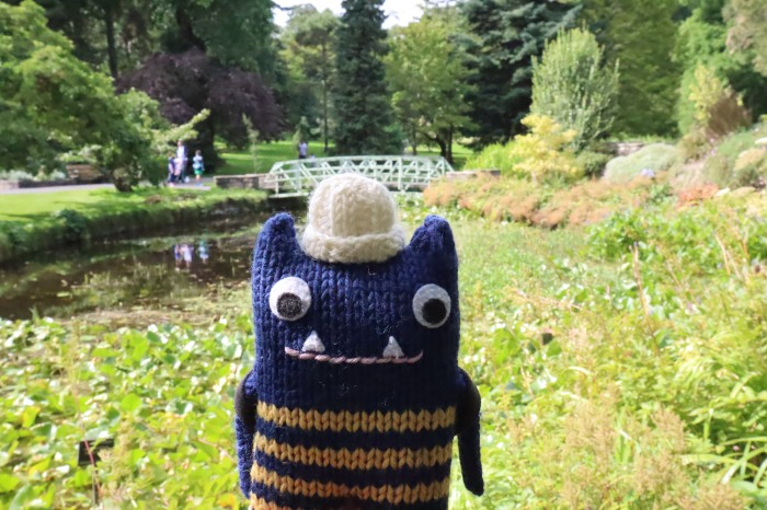 Botanic Gardens Beastie - CrawCrafts Beasties