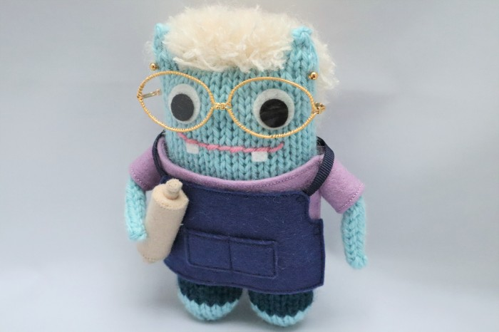 June Beastie, a special commission by CrawCrafts Beasties