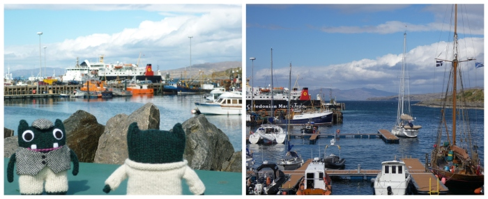 At Mallaig Harbour - Paddy and Plunkett Trains - H Crawford/CrawCrafts Beasties