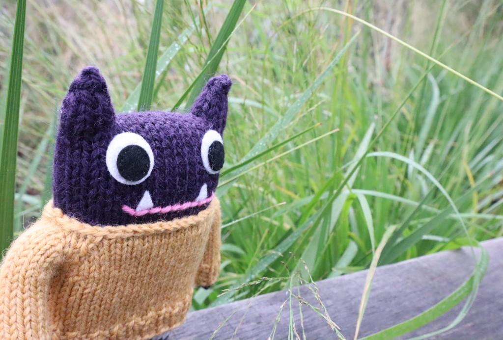 Woolly Jumper Beastie with Greenery - CrawCrafts Beasties