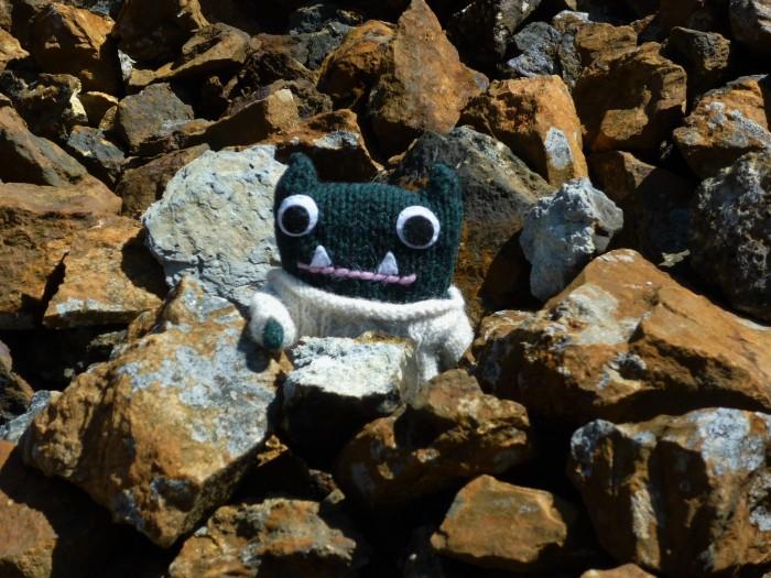 Blue Rocks at Parys Mountain - H Crawford/CrawCrafts Beasties
