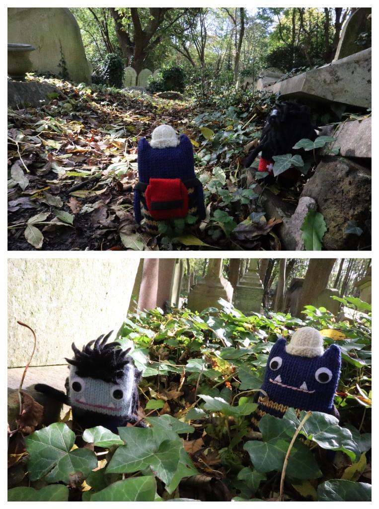 Highgate Cemetery Wanderings - CrawCrafts Beasties