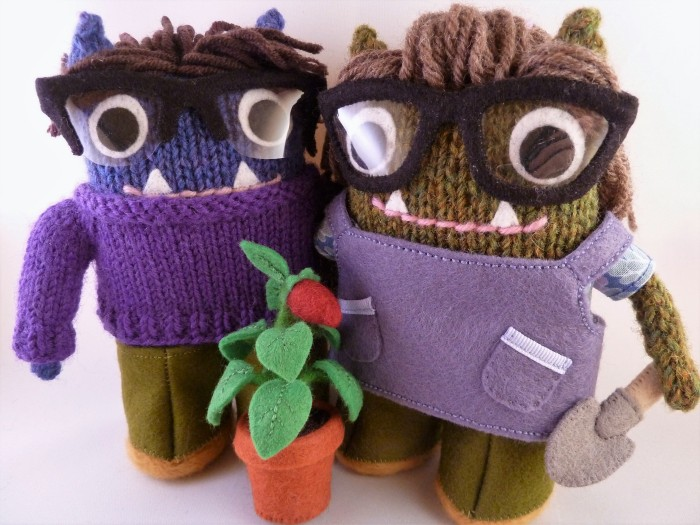 Ready for the Garden - CrawCrafts Beasties