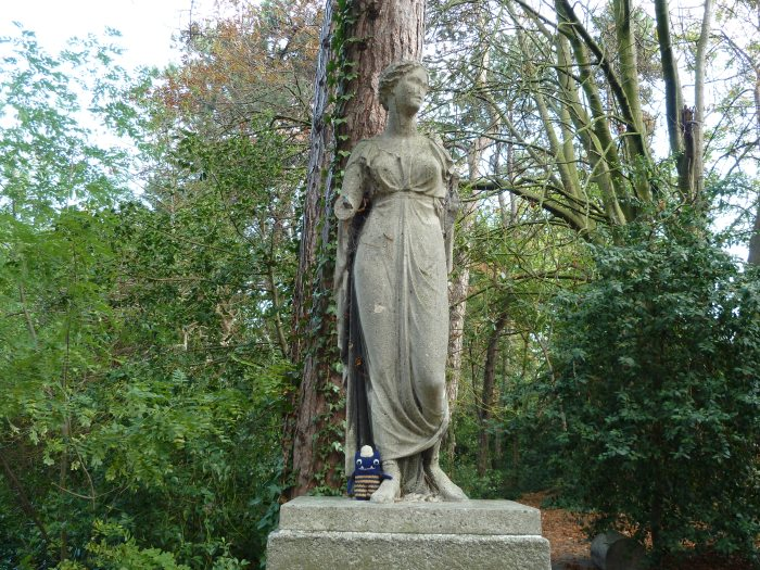 Statue at Iveagh Gardens - CrawCrafts Beasties