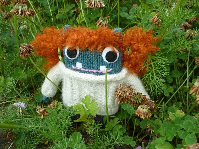 Redhead Barróg Beastie, by CrawCrafts Beasties
