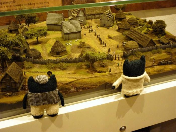 Beasties Visit Bangor - In Miniature! H Crawford/CrawCrafts Beasties