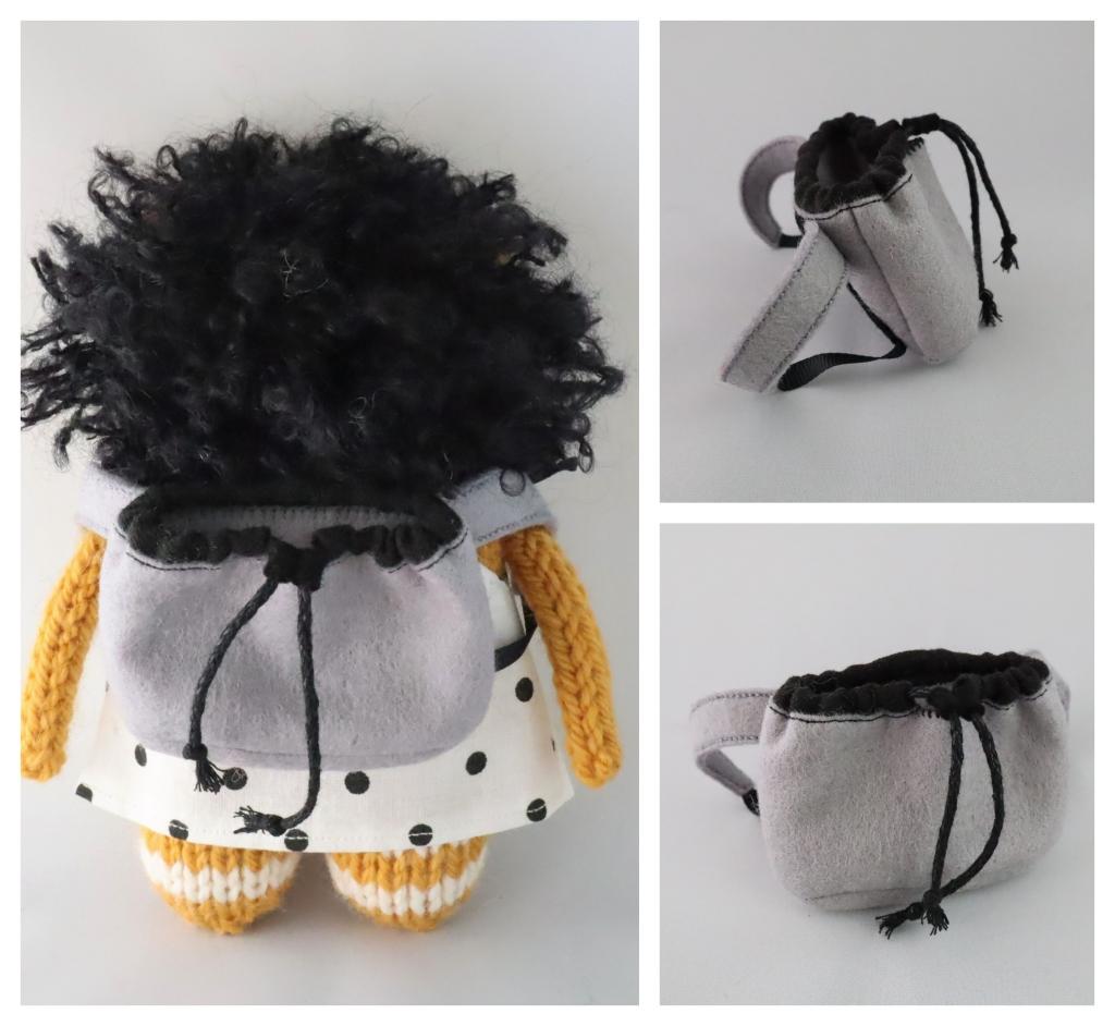 Beastie Doggy Backpack - Beastie Accessories - CrawCrafts Beasties