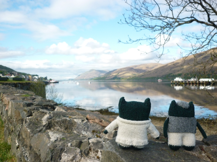 Paddy and Plunkett in Fortwilliam - H Crawford/CrawCrafts Beasties