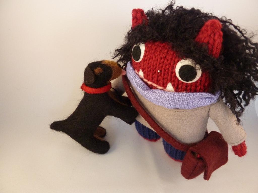 Hugs From Beastiedog - CrawCrafts Beasties