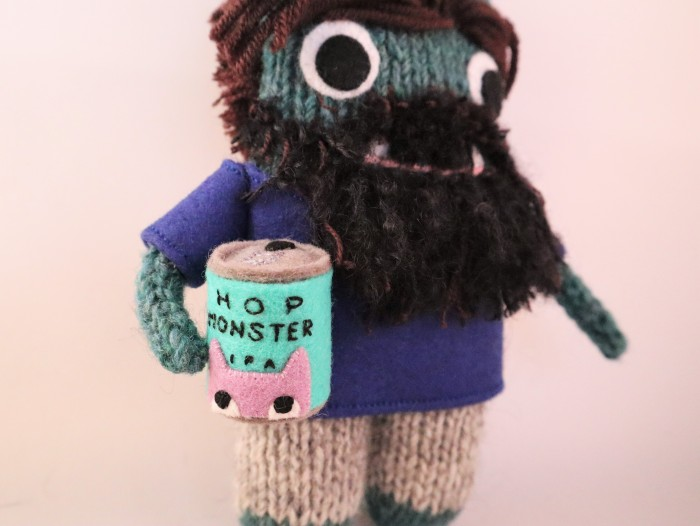 Cool Dad Beastie, A Commission for Father's Day - CrawCrafts Beasties