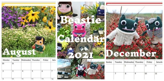 Beastie Calendar Sale - CrawCrafts Beasties