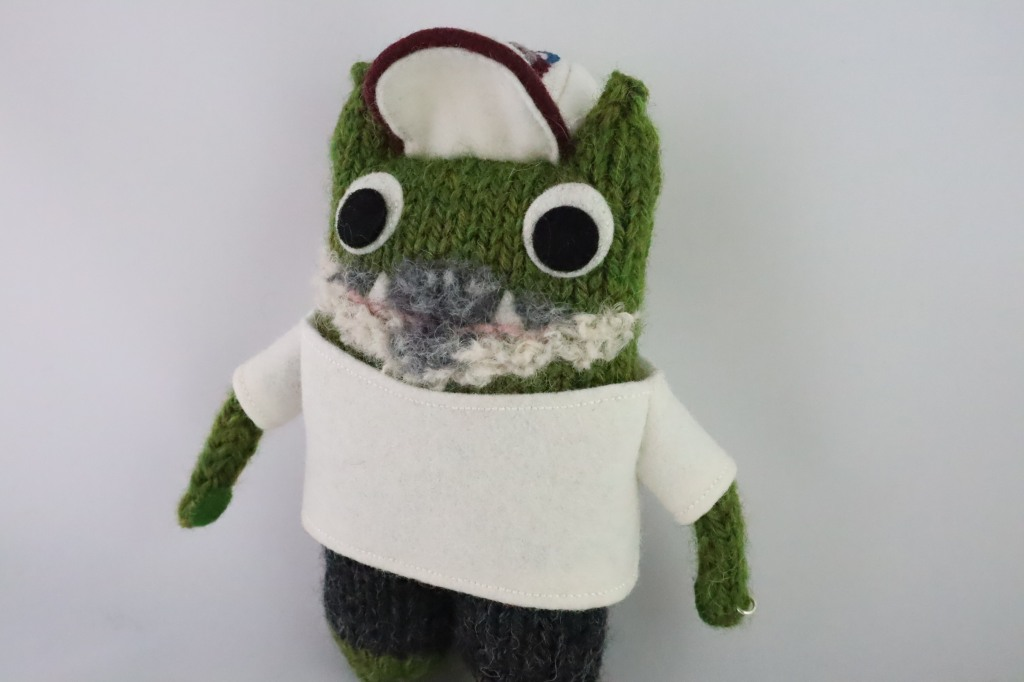 Fiancé Beastie Dressed to Impress - Engagement Gifts by CrawCrafts Beasties