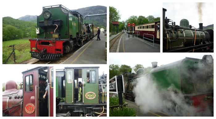 Trains of the Welsh Highland Heritage Railway - H Crawford/CrawCrafts Beasties