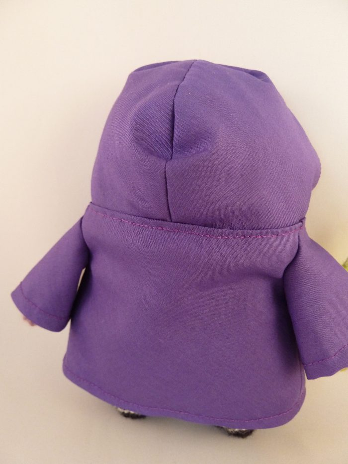 Witchy Beastie's Fabulous Purple Cape, by CrawCrafts Beasties
